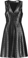 MICHAEL Michael Kors Metallic jacquard dress