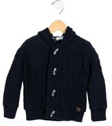 Tartine et Chocolat Boys' Knit Hooded Jacket