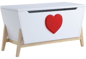 Isa Belle Clarita Youth Dresser Isabelle & Max Color: White/Red