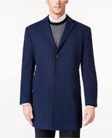 Ryan Seacrest Distinction Men's Royal Blue Overcoat, Only at Macy's