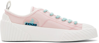 Kenzo Pink Volkano Sneakers