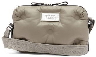 Maison Margiela Glam Slam Quilted-leather Shoulder Bag - Beige