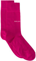 Balenciaga New logo socks - women - Cotton/Polyamide/Spandex/Elastane - One Size
