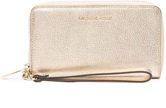 MICHAEL Michael Kors Pebbled-Effect Leather Wallet