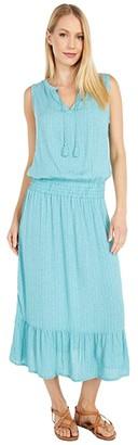 Prana Sentinel Maxi Dress (Azurite) Women's Dress