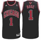 adidas Chicago Bulls Derrick Rose # 1 NBA Youth Big Boys Alternate Replica Jersey