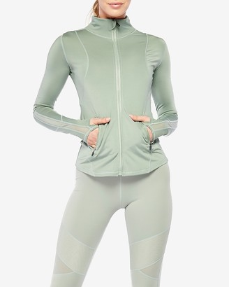 Express Electric Yoga Let'S Mesh Zip-Up Jacket