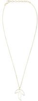 Sikara & Co. Three Leaf Necklace