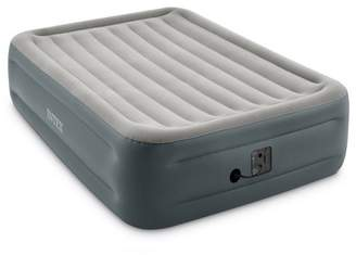 Intex 64125EP Dura-Beam Plus Essential Rest Inflatable Bed Air Mattress, Queen