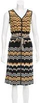Missoni Chevron Wool Dress