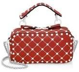 Valentino Studded Leather Crossbody Bag