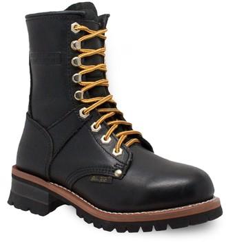 AdTec 2439 Women's Water Resistant Logger Work Boots