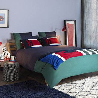Tommy Hilfiger Colour Block Duvet Cover - Evergreen - Super King