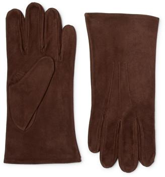 Anderson & Sheppard Suede Gloves