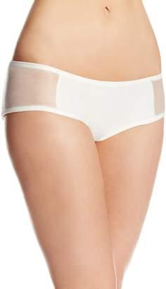 Carnival Womens Petite-Plus-Size Microfiber Glistenette Boyshort Panty