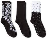 Hanes Women's Comfort Soft Crew Socks 3-Pack