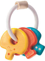 Plan Toys Baby Keys Rattle Toy, Multi