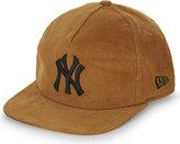 New Era Ny Corduroy Snapback Cap