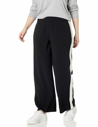 Rachel Roy Women's Plus Size Side Stripe Pant