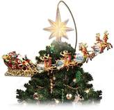 Thomas Laboratories Kinkade Holidays in Motion Rotating Illuminated Treetopper: Animated Christmas Decor by The Bradford Editions
