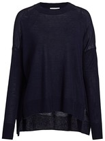 Derek Lam 10 Crosby Silk Wool Cashmere Sweater