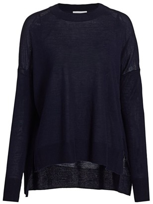 Derek Lam 10 Crosby Silk Wool Cashmere Sweater