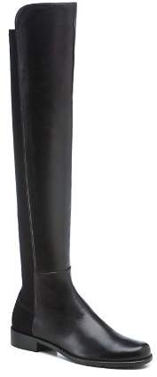 Stuart Weitzman Women's 5050 Leather Over the Knee Boots