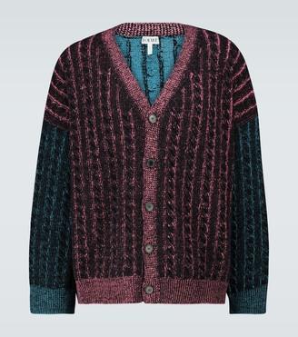 Loewe Oversized knitted cardigan