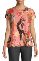 Lord & Taylor Floral High-Low Top