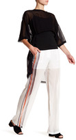 DKNY Sheer Pant with Stripe