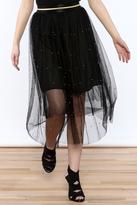 Toi et Moi High Waist Mesh Skirt