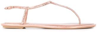 Rene Caovilla Diana rhinestone-embellished sandals