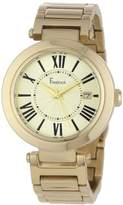 Freelook Women's HA1234GM-3A Cortina Roman Numeral Gold Watch