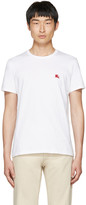 Burberry White Tunworth T-Shirt