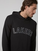 Frank + Oak L.A. Lakers Waffle-Knit Pullover Hoodie