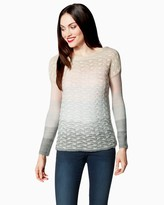 Charming charlie Snowy Ombre Sweater