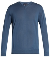 Lanvin V-neck cashmere sweater