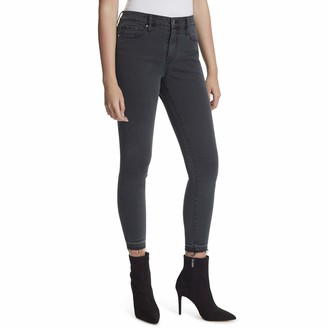 Jessica Simpson Women's Misses Adored Curvy High Rise Ankle Skinny