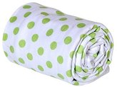 Trend Lab Swaddle Blanket, Sage Dot by