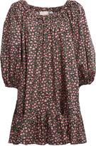 La DoubleJ Paloma Off-The-Shoulder Cotton Mini Dress