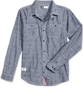 Lrg Men's Lifted Paisley Chambray Shirt