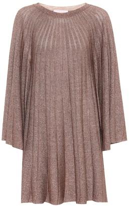 Chloé Metallic knit dress