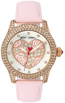 Betsey Johnson Pearlized Heart Watch