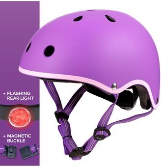 Micro Deluxe Scooter Helmet, Purple, Medium