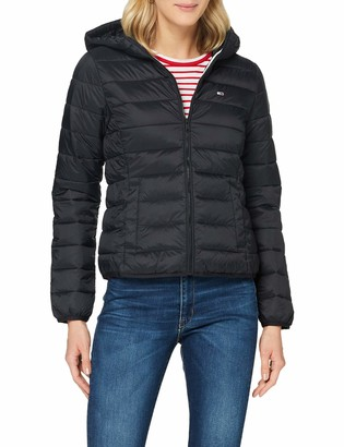 Tommy Jeans Tommy_Jeans Women's TJW HOODED QUILTED ZIP THRU Jacket