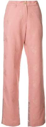 Ann Demeulemeester classic flare trousers