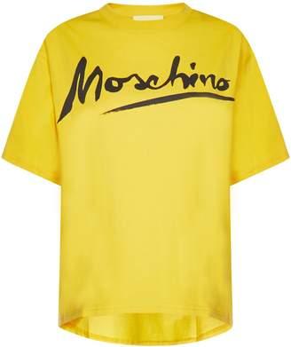 Moschino Moshinco Logo Signature T-Shirt