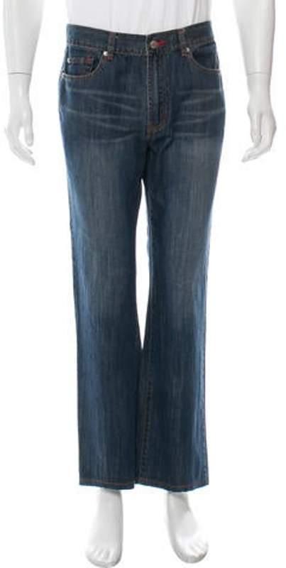 390f4764 Luna Rossa Straight-Leg Jeans blue Luna Rossa Straight-Leg Jeans