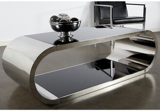 Statements By J Pia Chrome Coffee Table