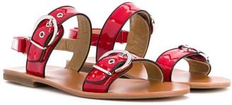 Gallucci Kids TEEN buckle-embellished sandals